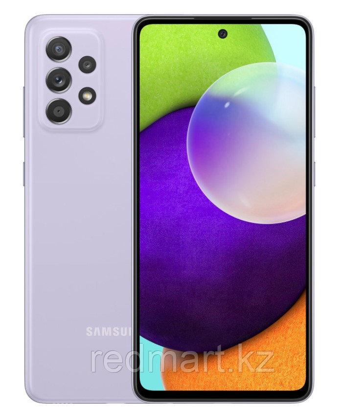 Смартфон Samsung Galaxy A52 8/256Gb фиолетовый - фото 1