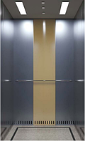 Лифт пассажирский BU Metallic azurine gold