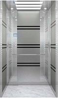 Лифт пассажирский SS Banded grey