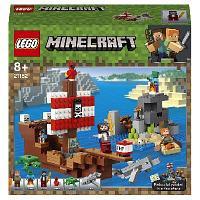 Конструктор LEGO Minecraft Приключения на пиратском корабле 21152