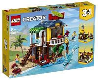 Конструктор LEGO Creator Пляжный домик серферов 31118