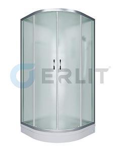 Душевая кабина ER3508P-C3 800*800*2150 низкий поддон, светлое стекло