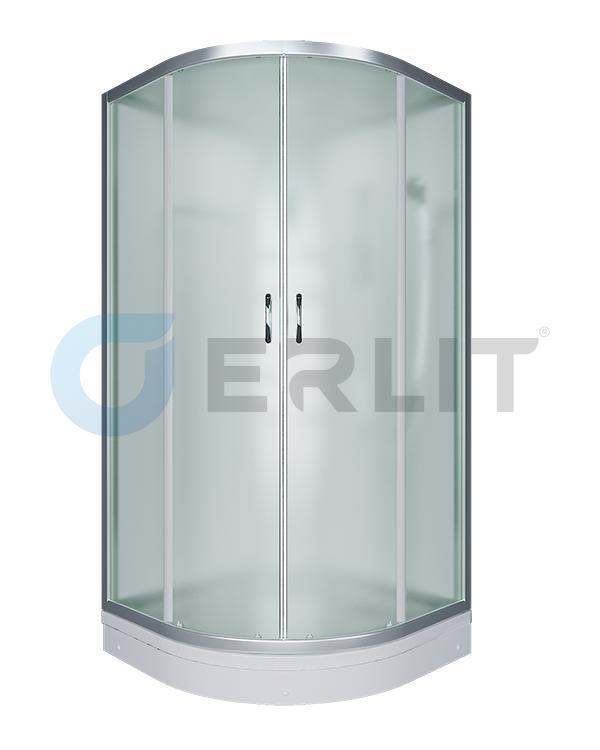 Душевая кабина ER3508P-C3 800*800*2150 низкий поддон, светлое стекло - фото 1