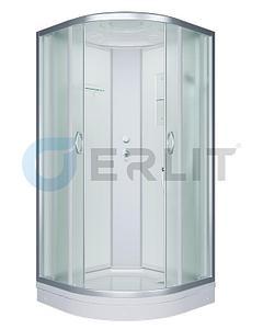 Душевая кабина ER3509P-C3 900*900*2150 низкий поддон, светлое стекло