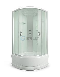 Душевая кабина ER3509TP-C3 900*900*2150 высокий поддон, светлое стекло