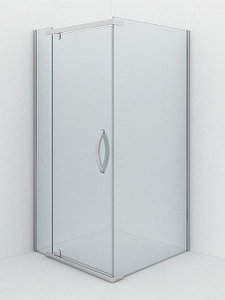 Душевое ограждение - AB214-100  1000*1000*2000 (без поддона) светлое стекло