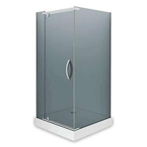 Душевое ограждение - AB244-90  900*900*2000 (без поддона) тонированое стекло