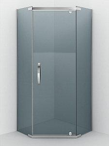 Душевое ограждение - AB245-90  900*900*2000 (без поддона) тонированое стекло