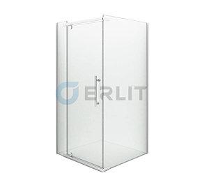 Душевое ограждение ER10109H-C1 900*900*2000 (без поддона) светлое стекло