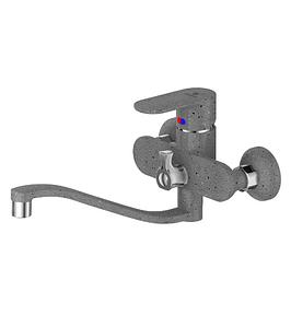 CAL2533A45F Смеситель Calorie для ванны графит (к/к 9)