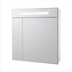 ZRU9000033 Зеркальный шкаф Victoria Nord 800мм бел.