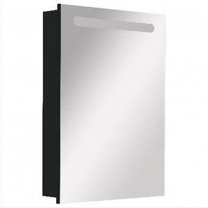 ZRU9000098 Зеркальный шкаф Victoria Nord Black Edition 600мм