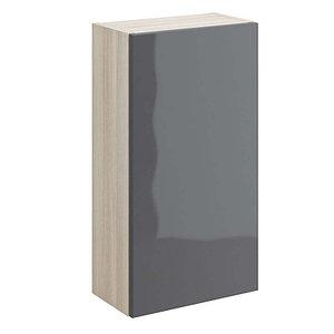 Шкафчик настенный Cersanit SMART универсальный, серый