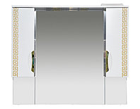 Престиж - 105 Зеркало-шкаф золотая патина