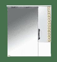Престиж - 80 Зеркало-шкаф (правое) золотая патина