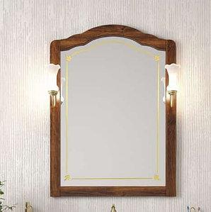 Зеркало Лоренцо 80, цвет свет.орех