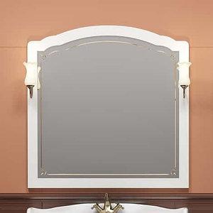 Зеркало Лоренцо 100, цвет белый