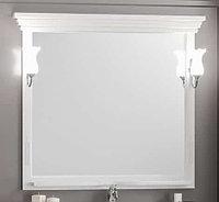 Зеркало Риспекто 100, цвет белый