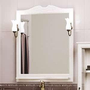 Зеркало Клио 80, цвет белый