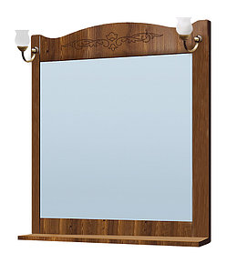 """Шкаф зеркальный Vako """"Классика 800 свет"""" дуб 11757"""