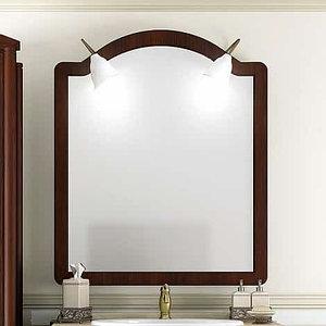 Зеркало Виктория 90 цвет светлый орех