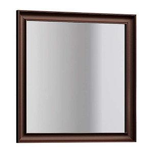 Зеркало Капри 80, цвет белый/нагал