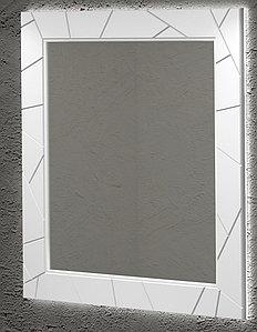 Зеркало Луиджи 90, цвет белый матовый
