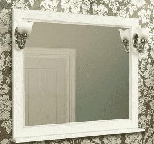 Зеркало, ЖЕРОНА, 105, белое серебро