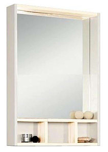 Зеркало - шкаф, ЙОРК, 60, белый, выбеленное дерево