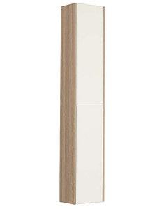 Шкаф - колонна, ЙОРК, белый, дуб, сонома