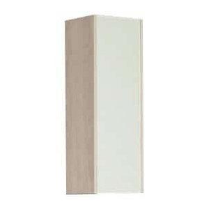 Шкаф, 1 створка, ЙОРК, белый, ясень фабрик