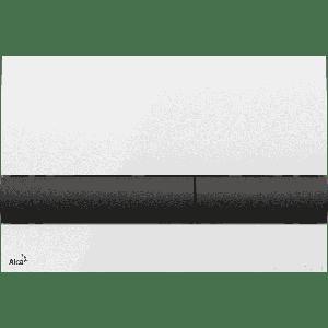 М 1710-8 Кнопка управления (Белая/черная)