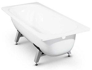 Ванна стальная с антибак. покрытием DONNA VANNA c о/подставкой 105*65*35,5 (белая орхидея) ОР-13300