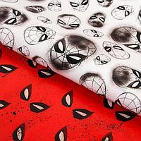 Бумага упаковочная глянцевая двусторонняя, Человек-паук, 60x90 см