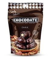 "Финики в шоколаде ""Темный шоколад""  60% какао Chocodate Exclusive Real Dark 100g Pouch V2"