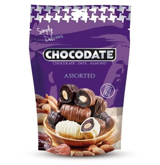 Финики в шоколаде Ассорти Chocodate Exclusive Real Assorted 250g Pouch V2