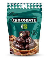Финики в шоколаде ТЕМНЫЙ /без сахара/ Chocodate Exclusive Dark NA Sugar 250g Pouch V2