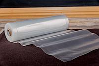 Вакуумный рулон рубчиком 17*500см 2*90мк PA/PE vacuum ribbed roll