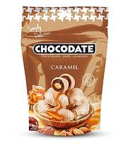 Финики в шоколаде Карамель Chocodate Exclusive Real Caramel 250g Pouch V2