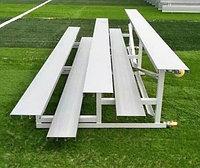 Мобильные алюминиевые сиденья - скамья