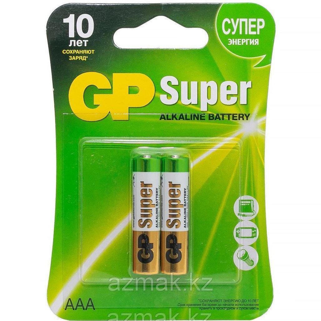 Батарейки GP SUPER Alkaline 24A-CR2 (ААА)