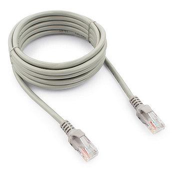 Патч-корд UTP Cablexpert PP12-3M кат.5e, 3м, литой, многожильный (серый)