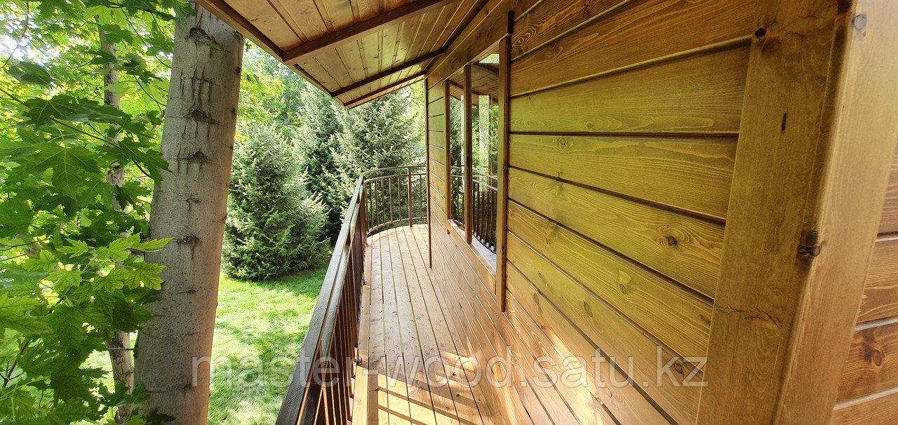 Изготовление деревянных домиков, дом на дереве - фото 5