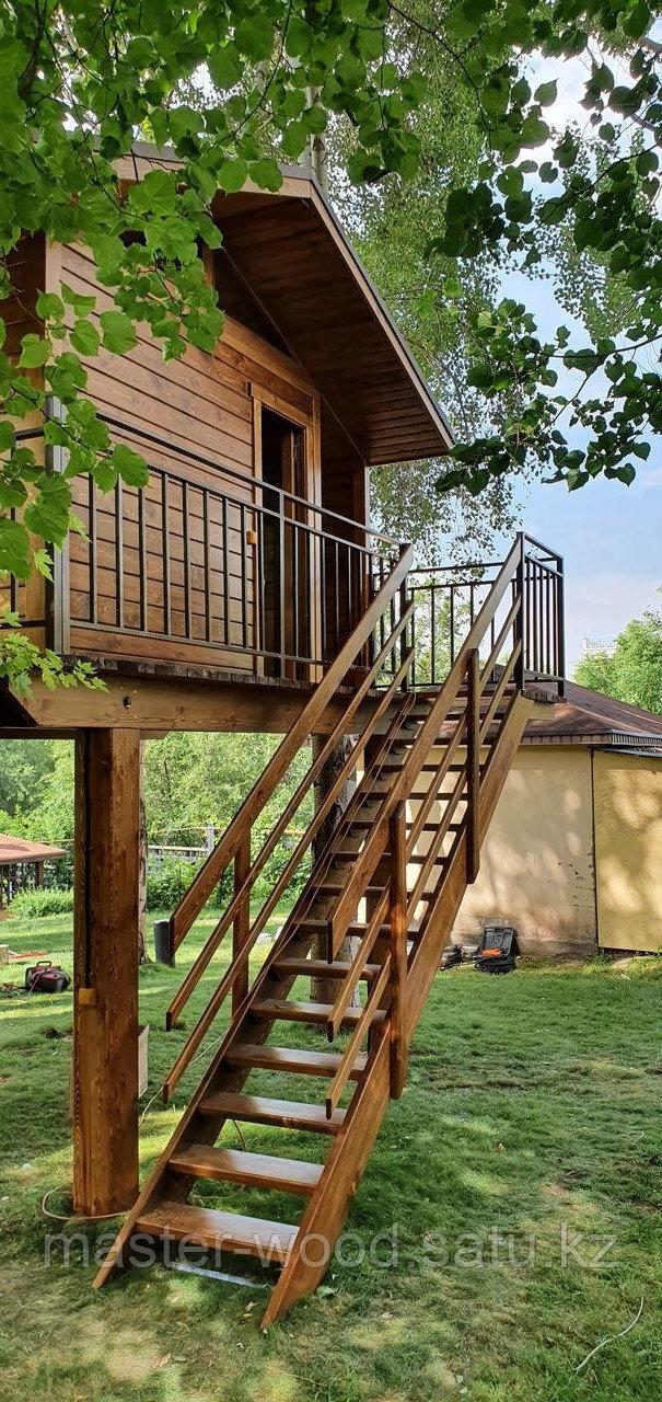 Изготовление деревянных домиков, дом на дереве - фото 3