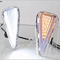 Дневные ходовые огни на Toyota Camry V55 2014-17 дизайн (V)