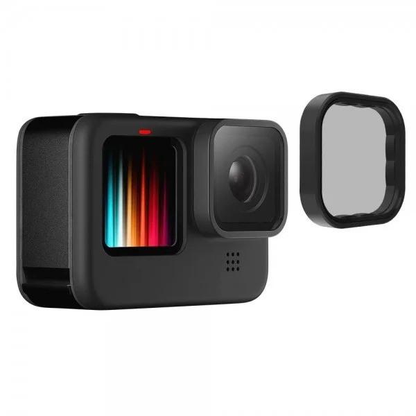 Поляризационный(CPL) фильтр TELESIN для GoPro HERO 9 Black