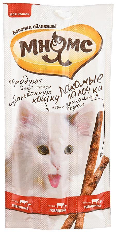 Лакомство Мнямс для кошек Говядина/печень