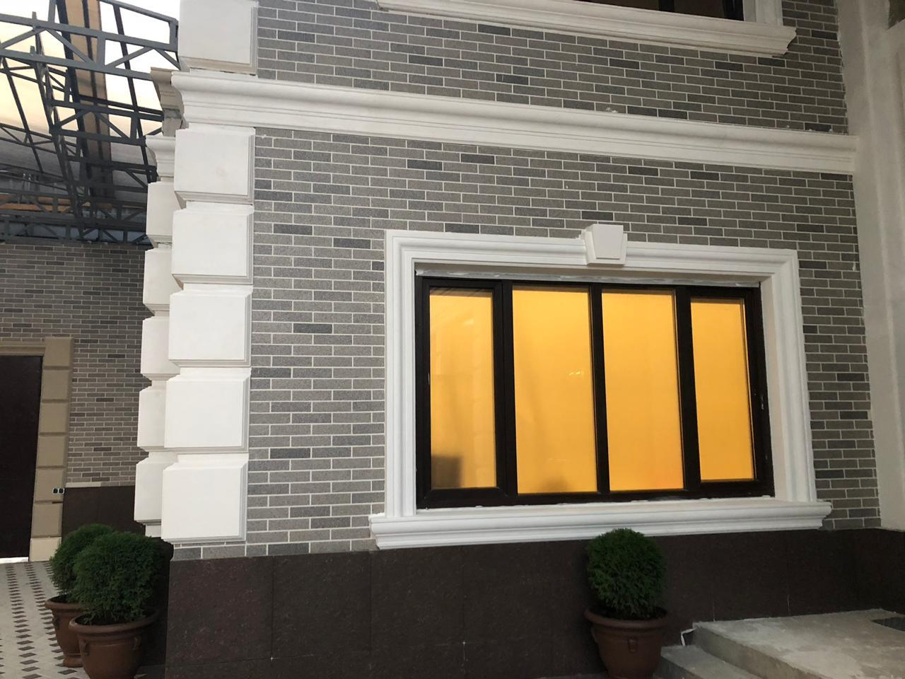 Декоративное покрытие Фасад АМК ригель Однотонный