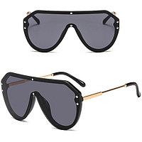 Солнцезащитные очки авиаторы UV-400 Fendi черные