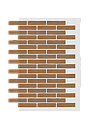 Декоративное покрытие Фасад АМК клинкер Однотонный, фото 3